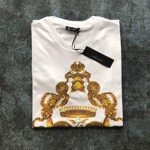 Versace Men's T-shirt Color White Cotton NWT
